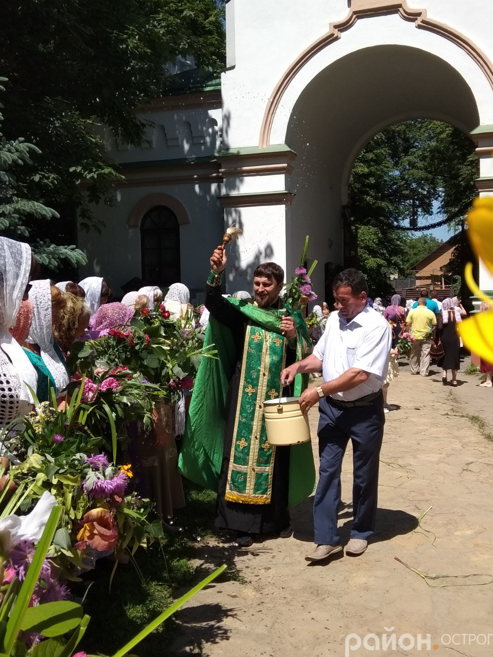 Освячення зілля в Богоявленському соборі