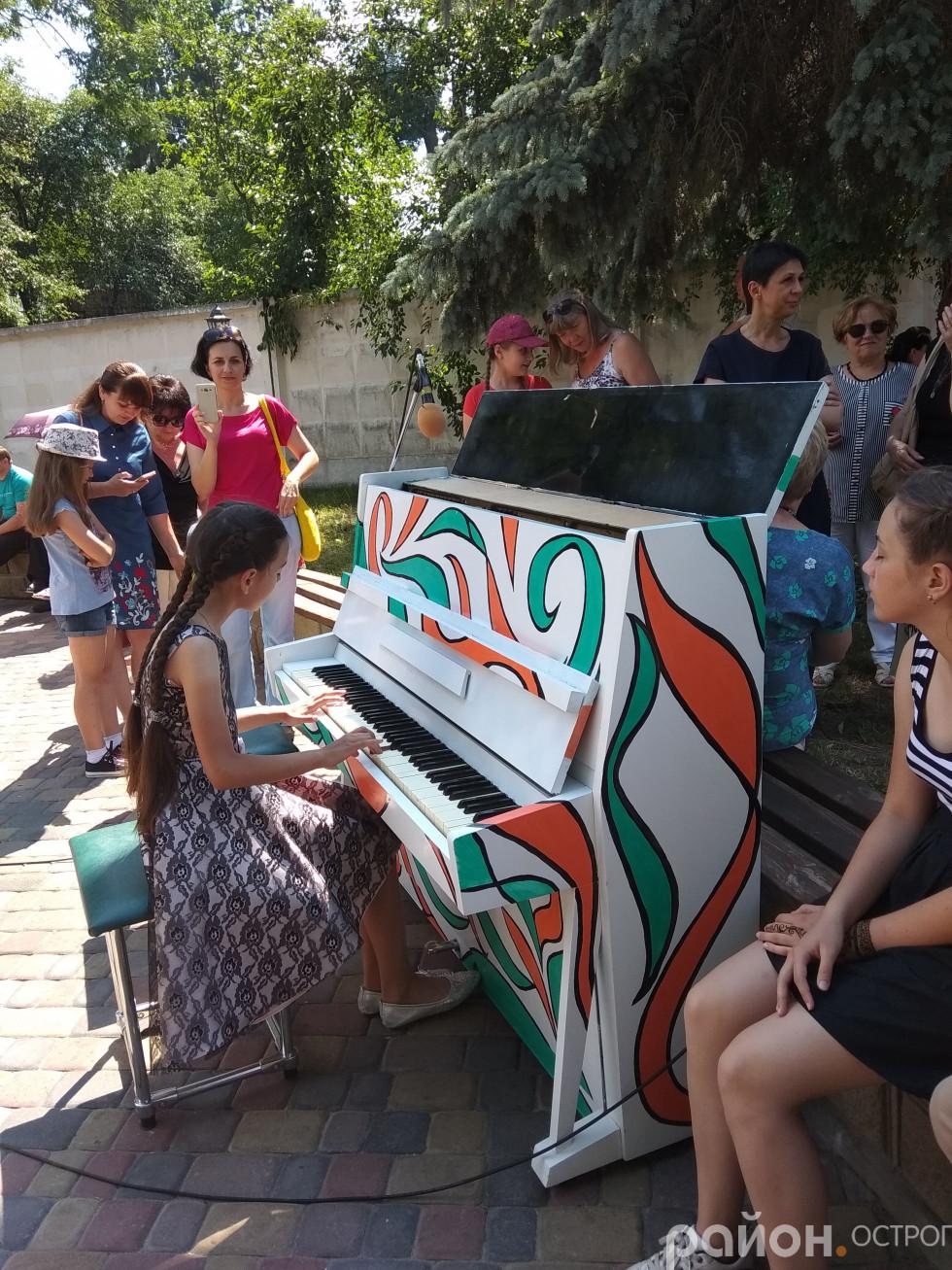 «Вільне» фортепіано