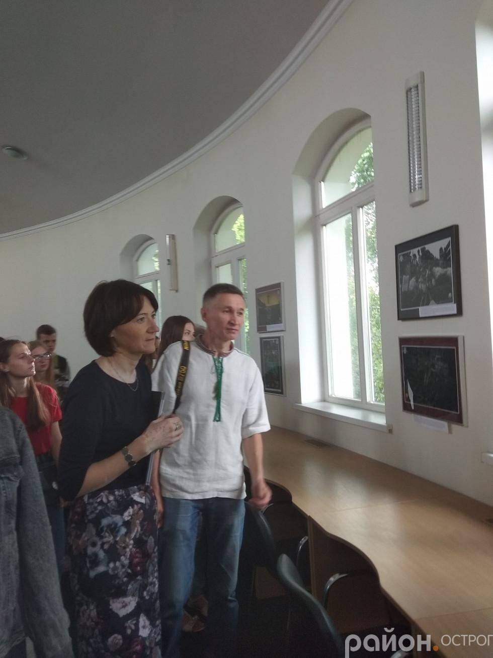 Огляд експозиції виставки