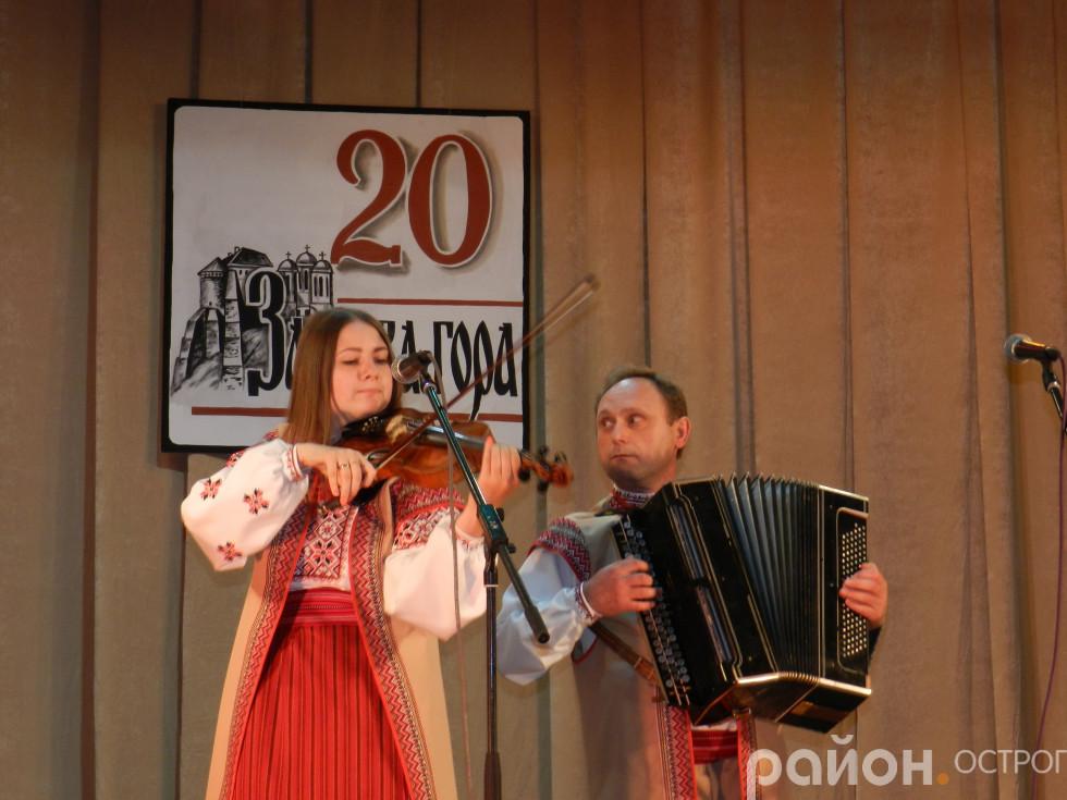 Ансамбль народної пісні Острозького районного будинку культури «Живограй»