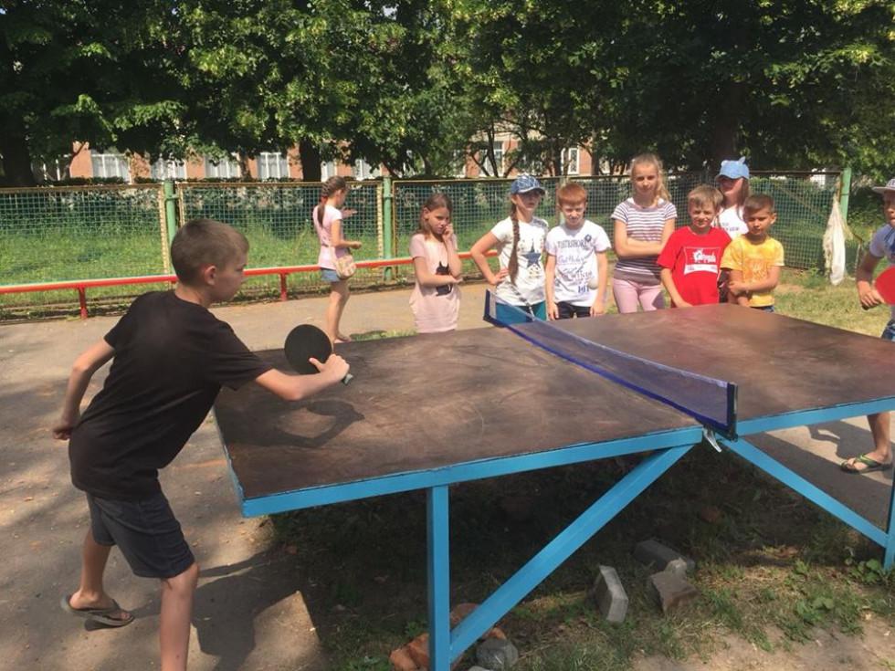 Олімпійський день у школі. Змагання з тенісу