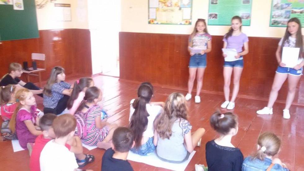 Заняття мовного табору