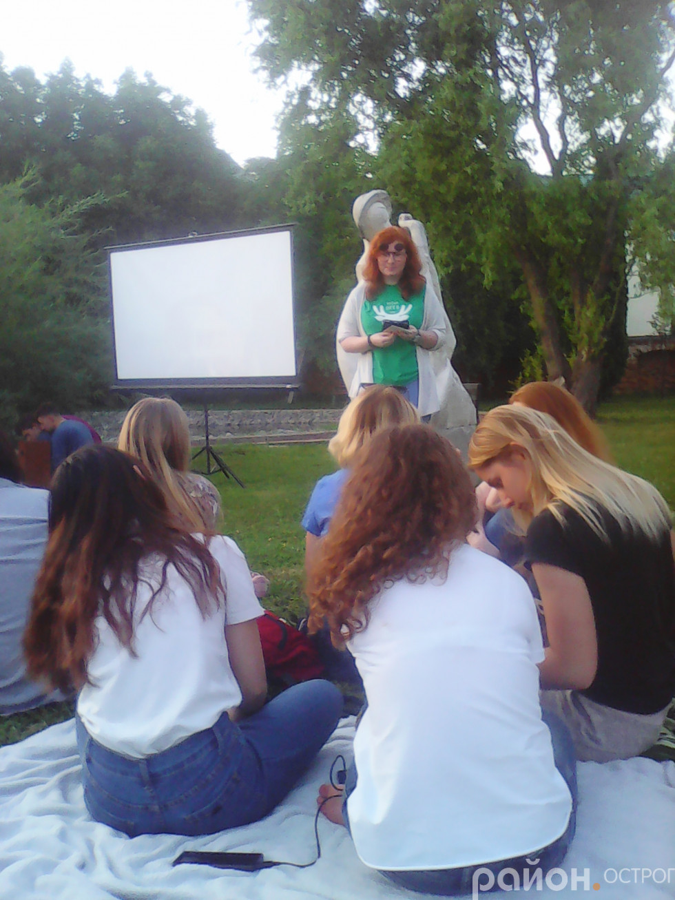 Вікторина перед початком показу фільму