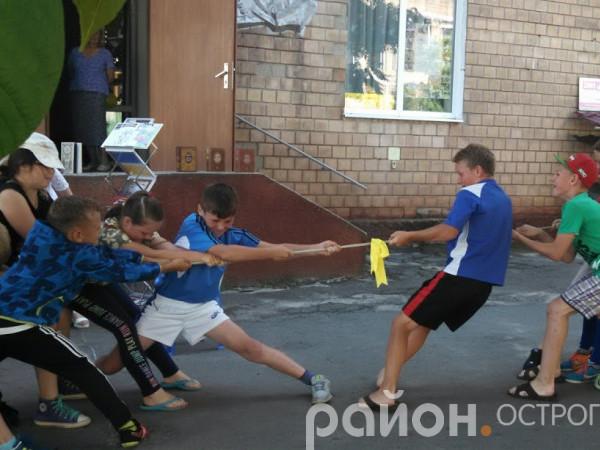 Спортивно-розважальна гра «Пригоди малих козаків»