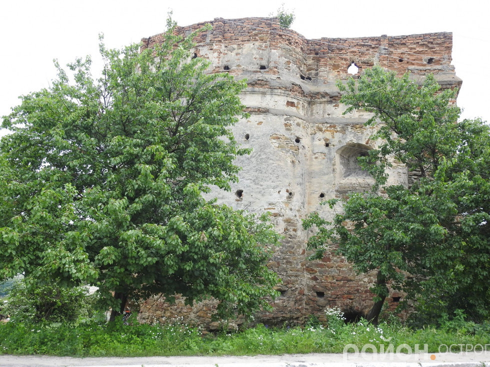 Дерева заважають огляду Татарської вежі