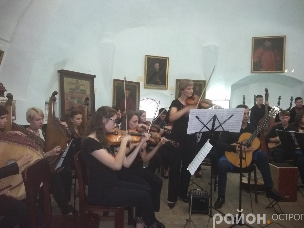 В Острозькому замку звучала музика