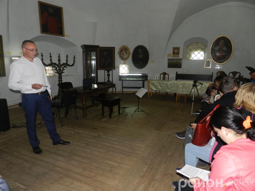 Тарас Безюльов на відкритті фестивалю