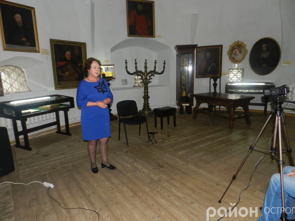 Марія Кузьмінчук вітає учасників фестивалю