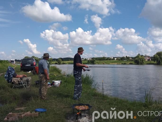 Під час чемпіонату з риболовлі