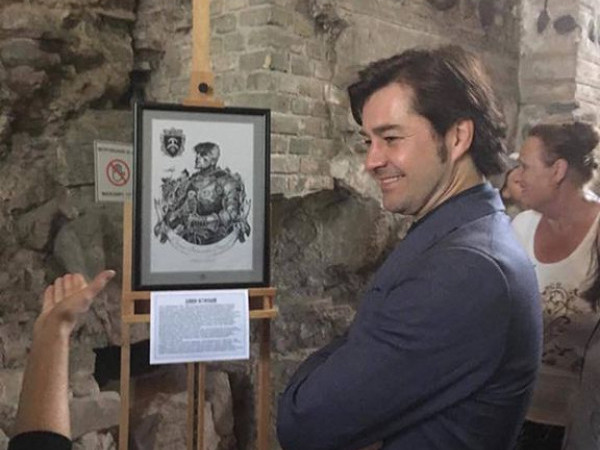 На виставці представлені портрети князів Острозьких