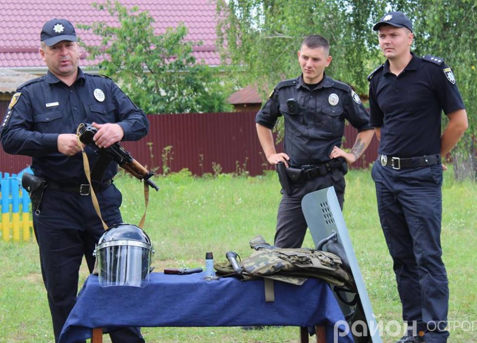 Поліцейські розповідають про зброю