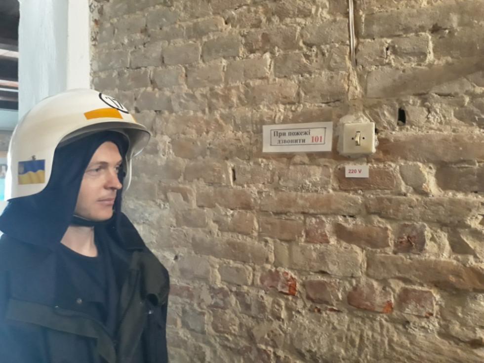 В історико-культурному заповіднику дотриуються правил пожежної безпеки