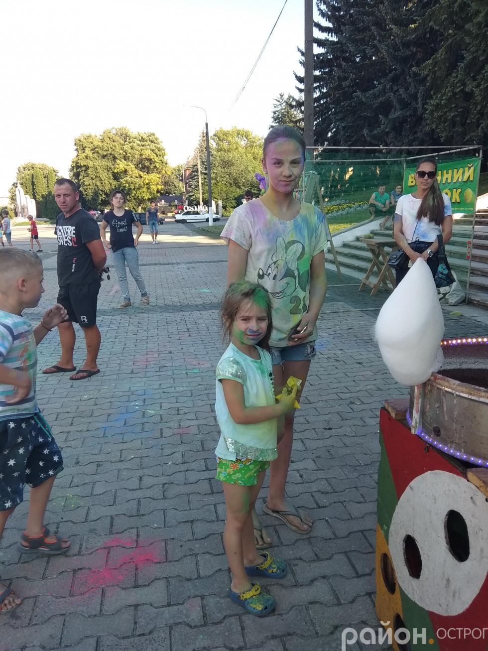 На фестиваль завітали родинами