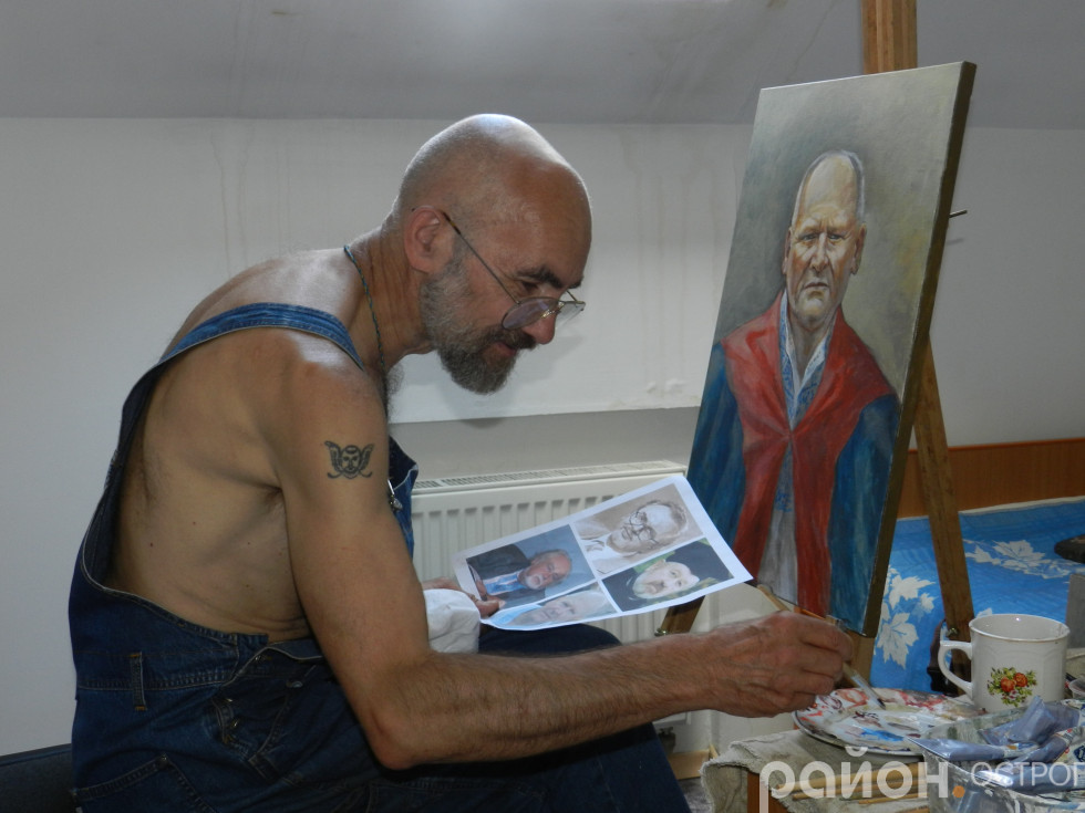 Юрій Нікітін за роботою