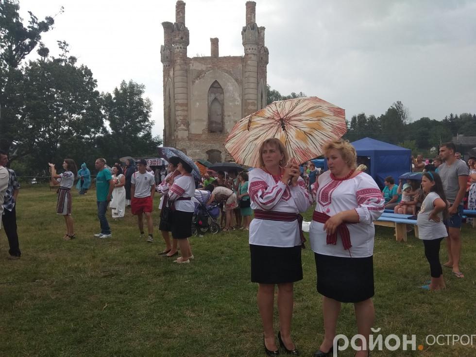 Учасників фестивалю не налякав дощ