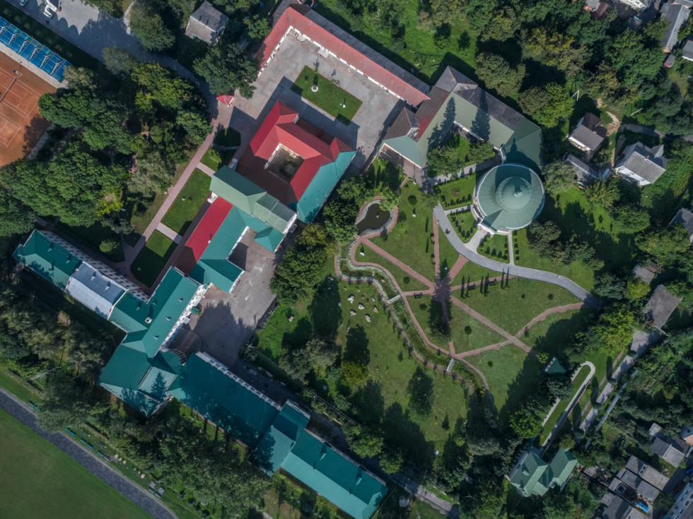 Територія університету з висоти пташиного польоту