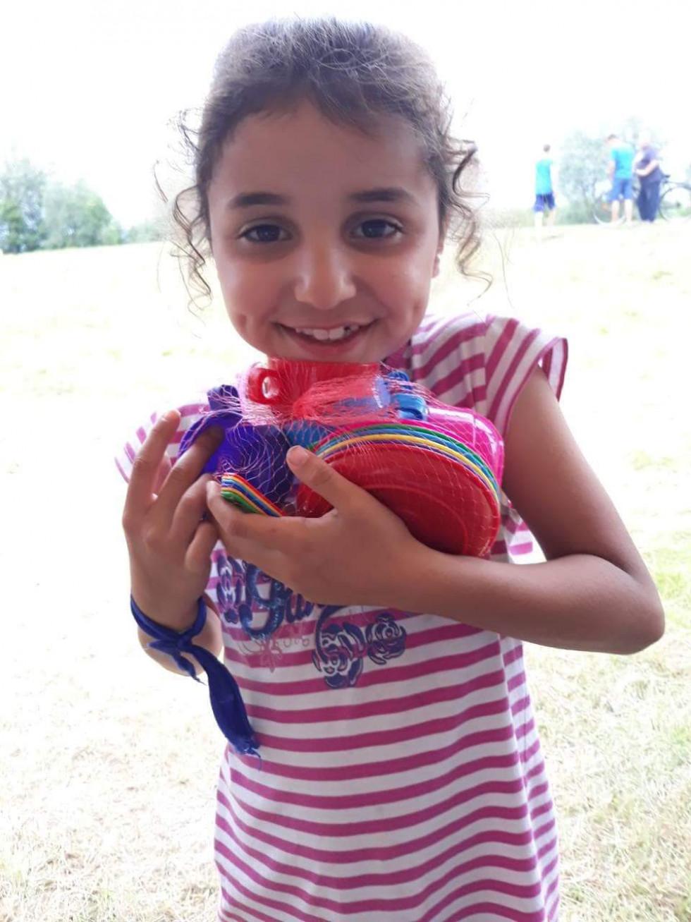 Дитячі усмішки від «Торби щастя»