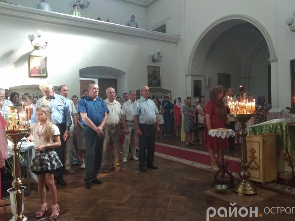 Віряни Студентсько-викладацького храму преп. Федора Острозького