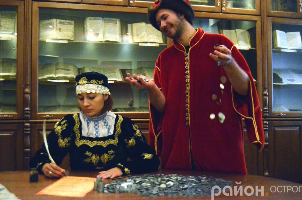 Фотосесія до українсько-польської абетки історії музею НаУОА