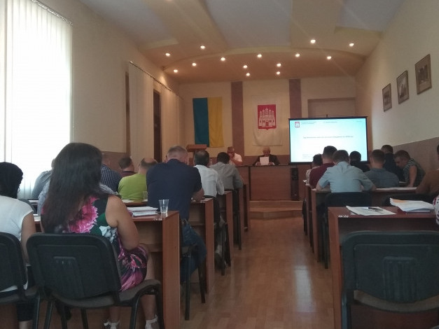 Сесія Острозької міської ради 31 серпня 2018