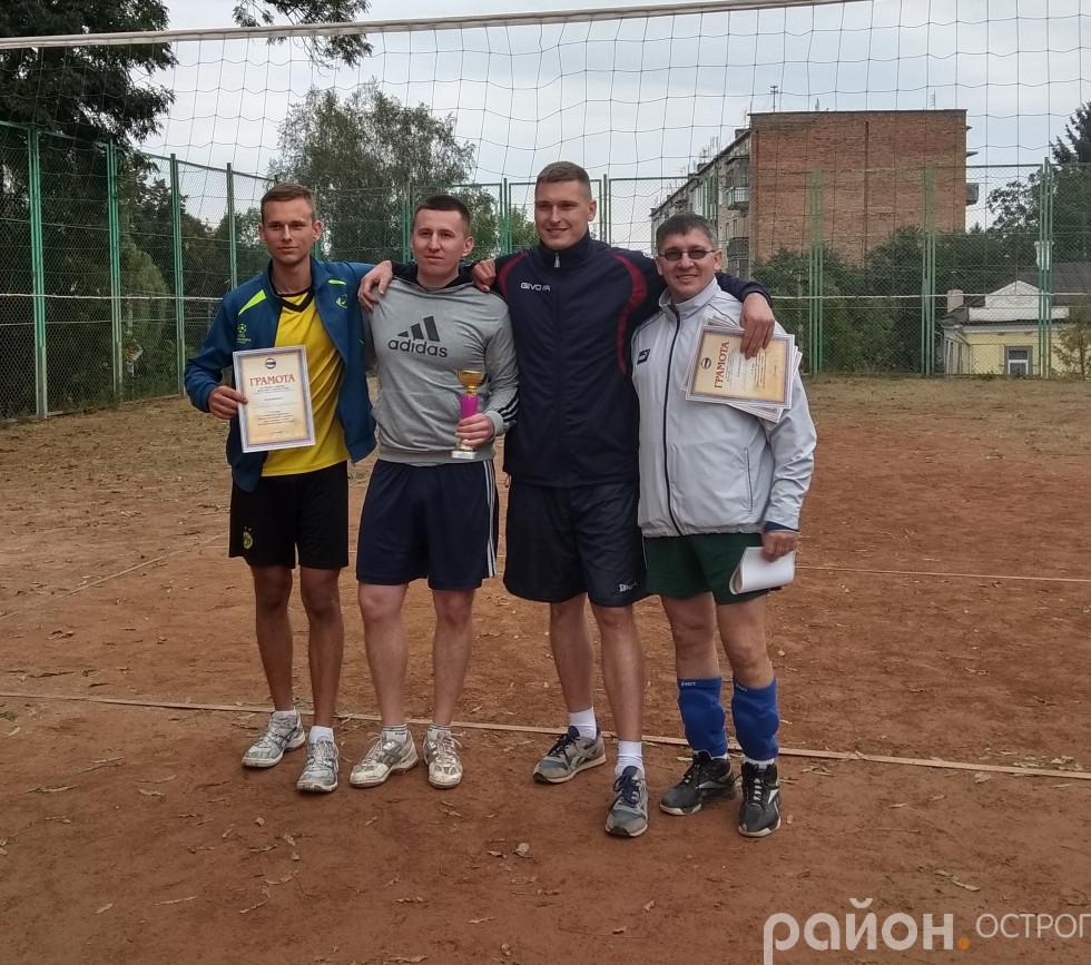 «Острог-рвачі» - команда-переможець волейбольного турніру