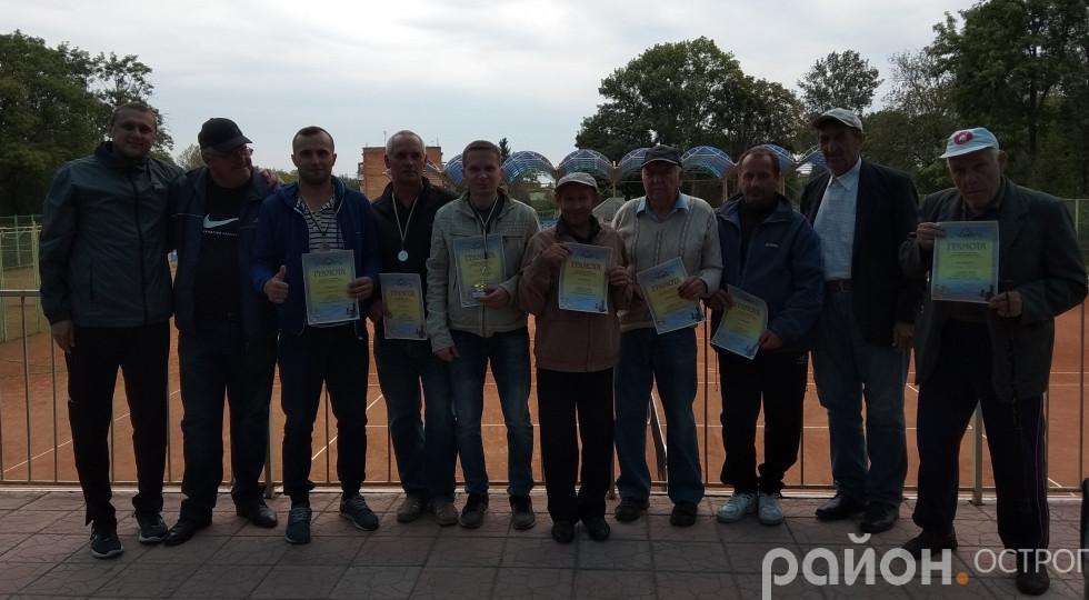 Учасники шахового турніру