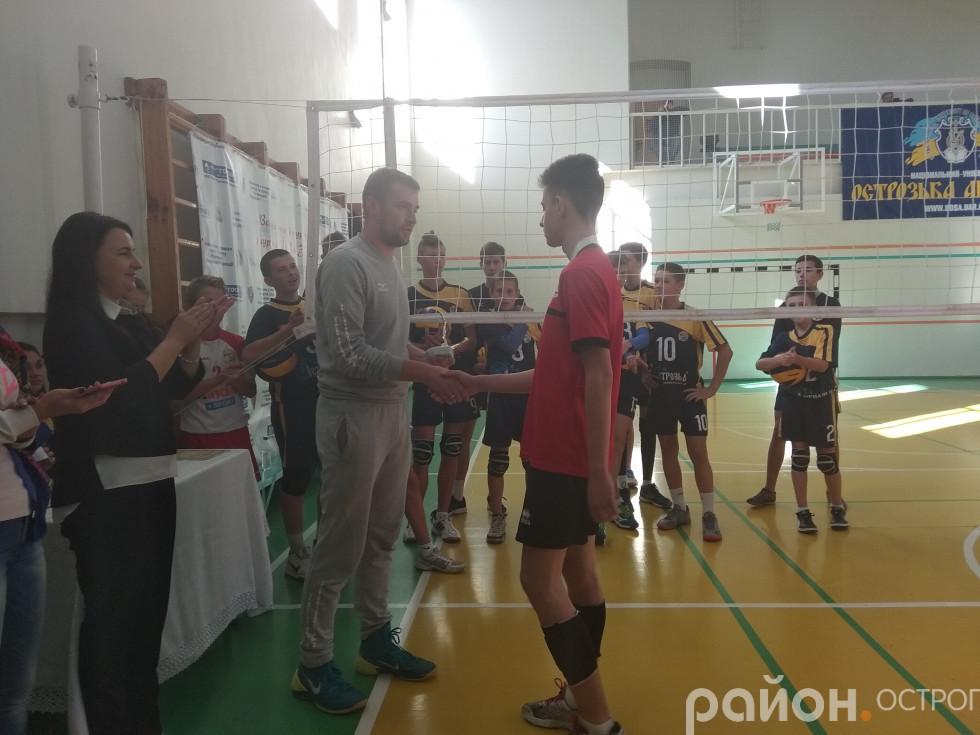 Нагороди отримують тернополяни, бронзові призери турніру