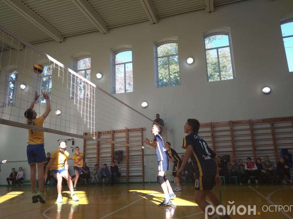 Ігровий момент Київ - Острог
