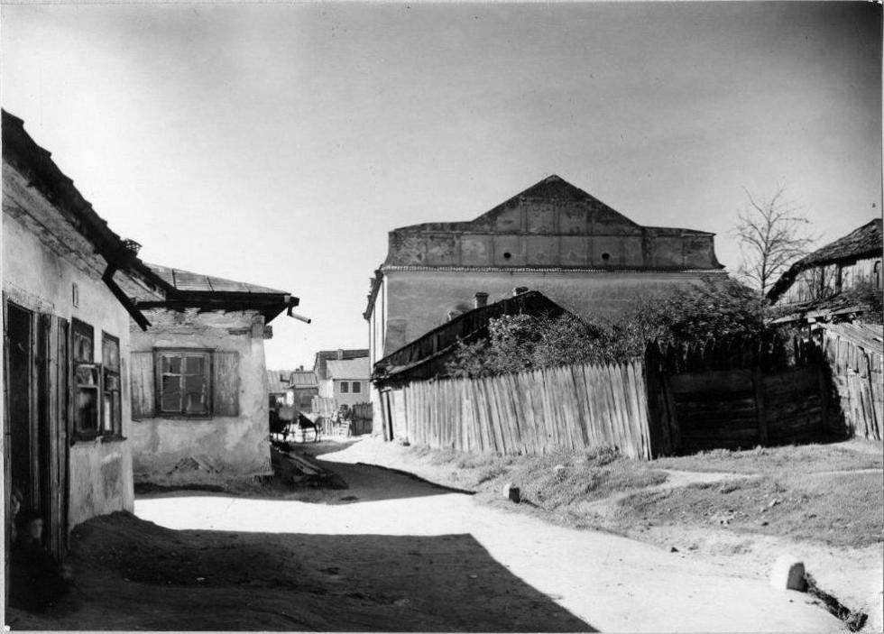 Велика синагога, 1920-ті рр., фото Шимона Зайчика, Інститут мистецтва Польської академії наук