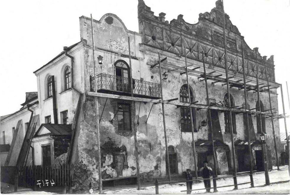 Острозька синагога, 1912 р.
