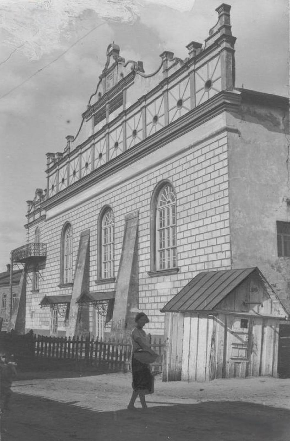 Велика синагога, 1933 р., фото Єжи Лучинського, архів ілюстрації газети Ilustrowany Kurier Codzienny, NAC
