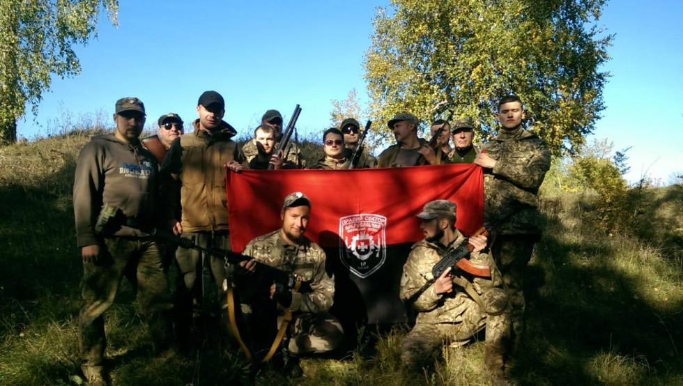Бійці ДУК «Правий сектор» провели вишкіл на Острожчині