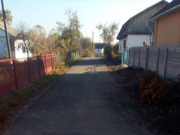 Відремонтована дорога в Межирічі