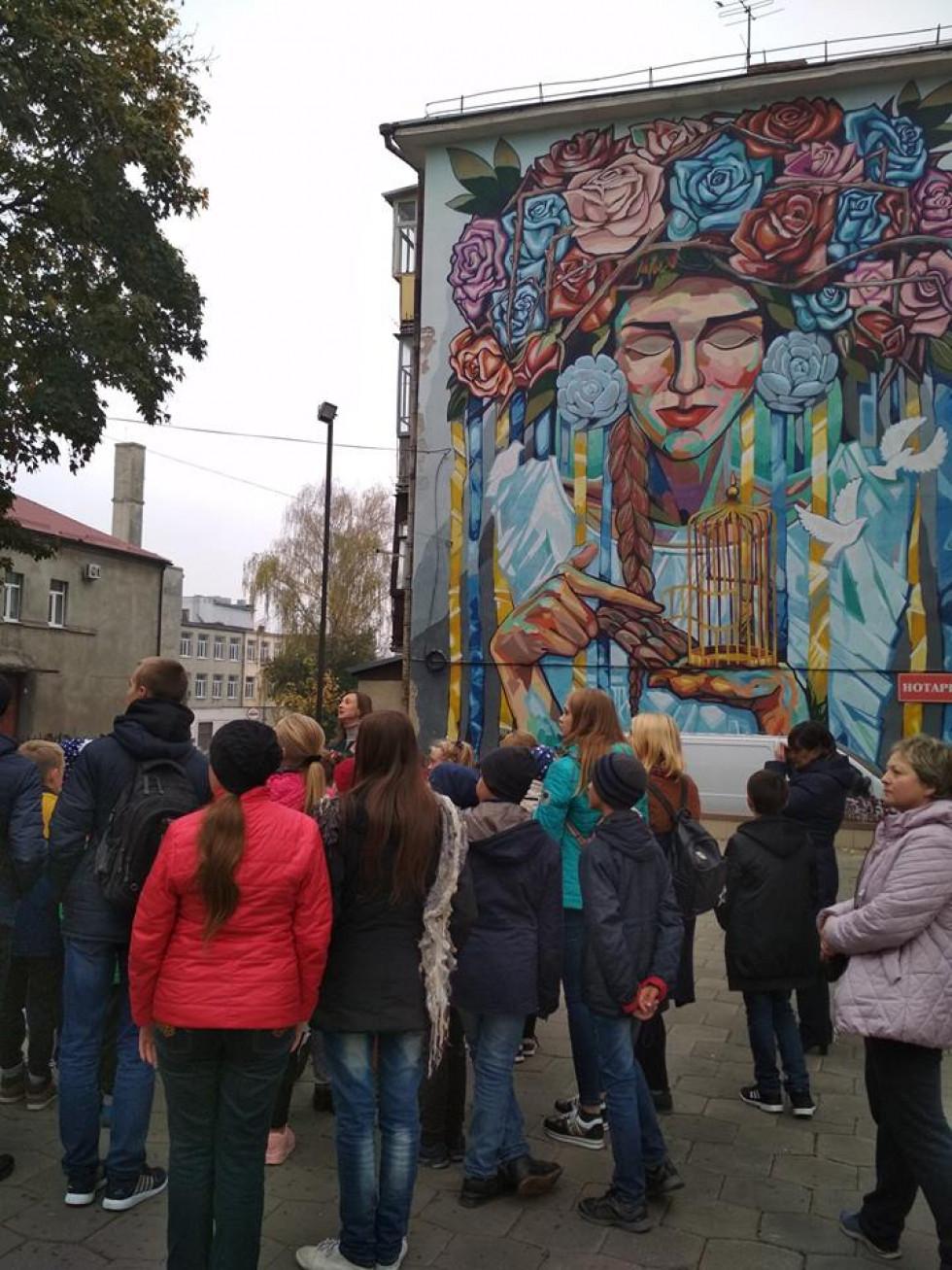 У Луцьку школярі відвідали різні локації