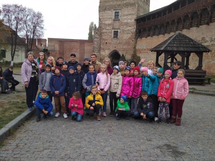 Школярі з Острожчини побували в Луцьку