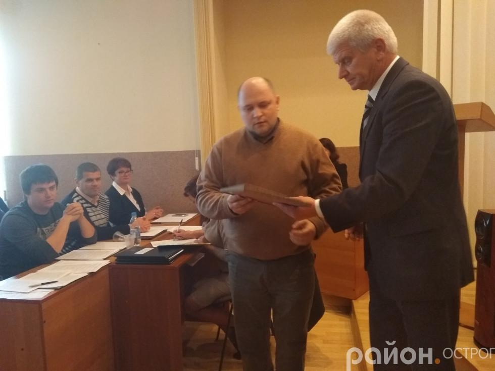Вадим Бондарчук нагороджений за гуманітарну участь в АТО