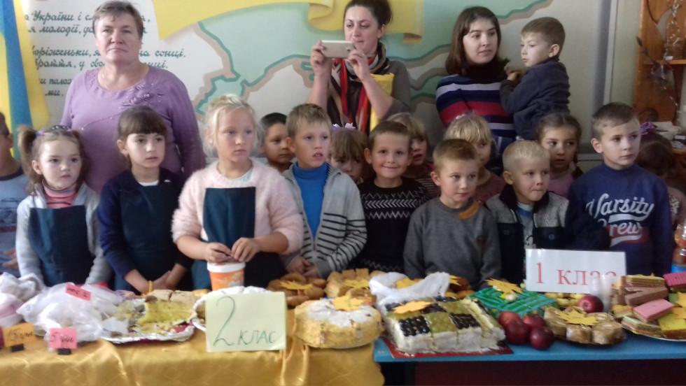 До ярмарку молодших школярів готували рідні