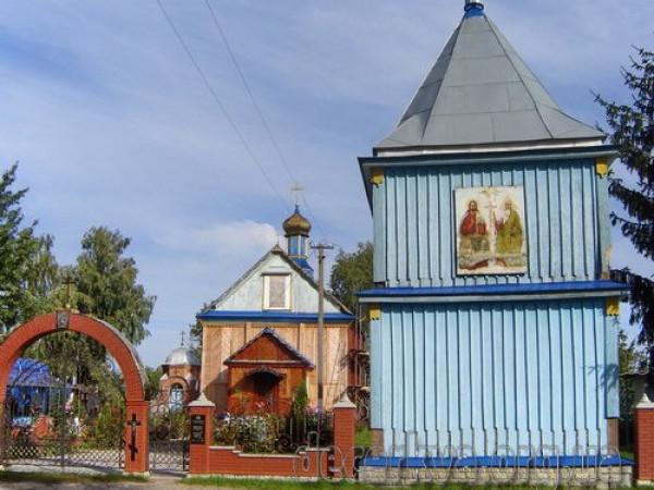 Свято-Троїцький храм села Українка
