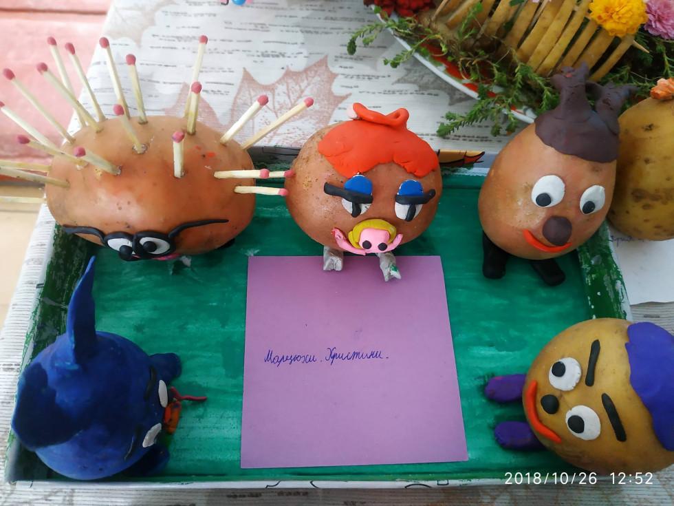 Картопляні герої мультиків