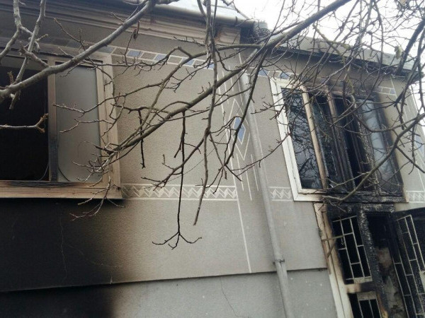 Будинок, у якому трапилася пожежа