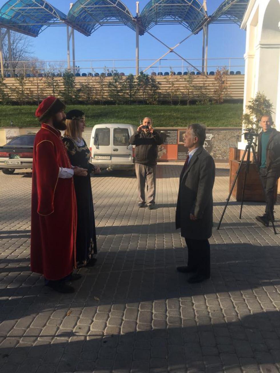 Мустафа Джемілєв в Острозькій академії
