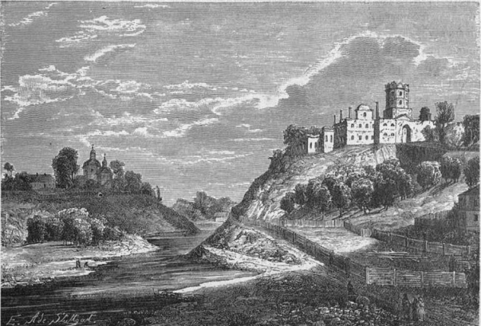 Замок в Корці