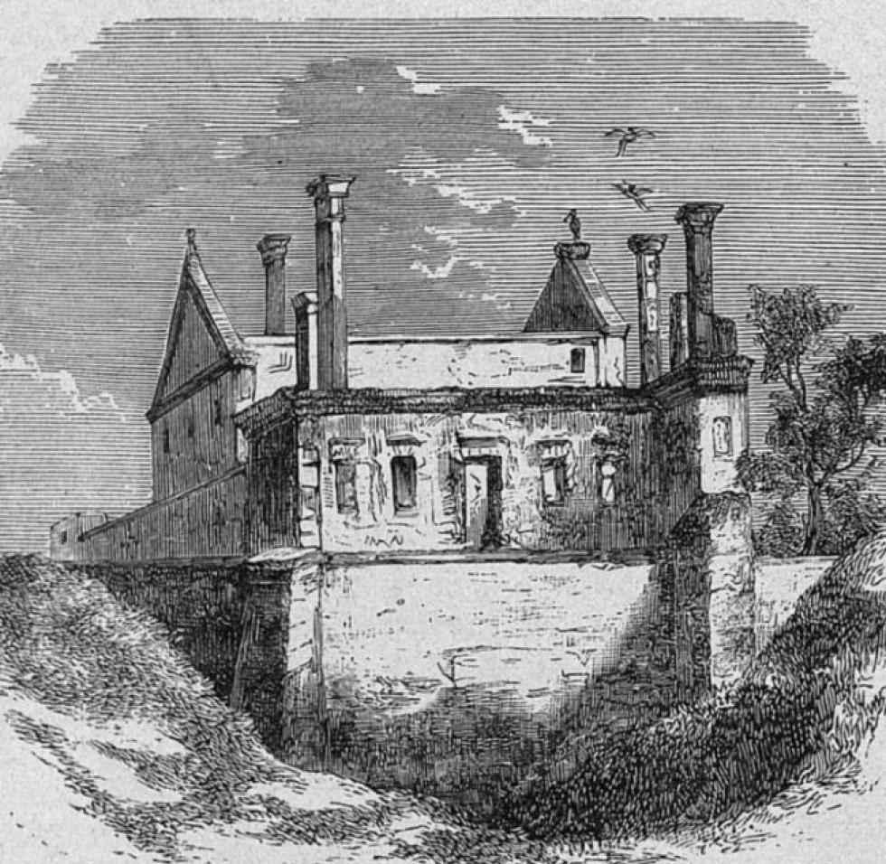 Замок в Чорторийську