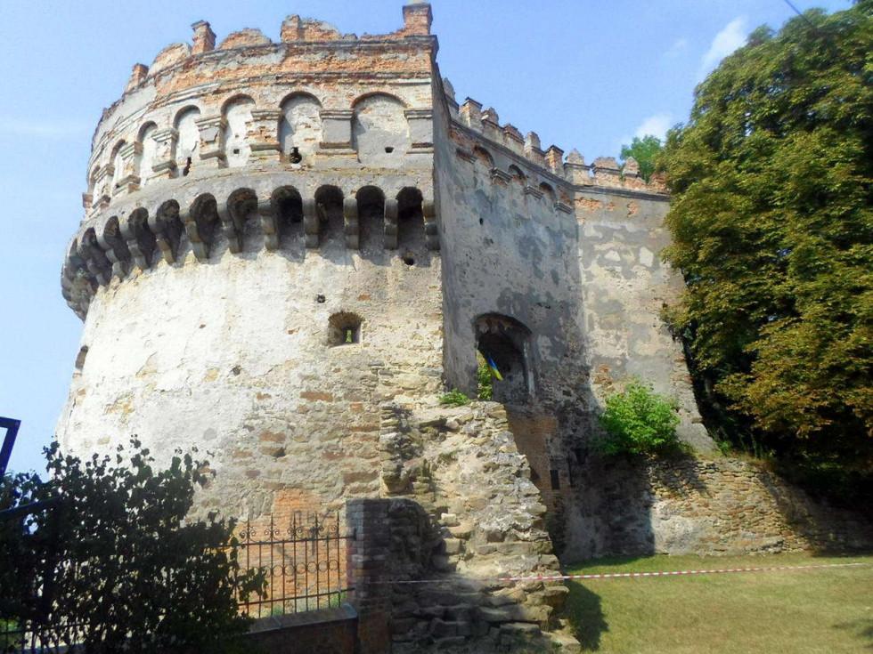 Замкова гора в Острозі