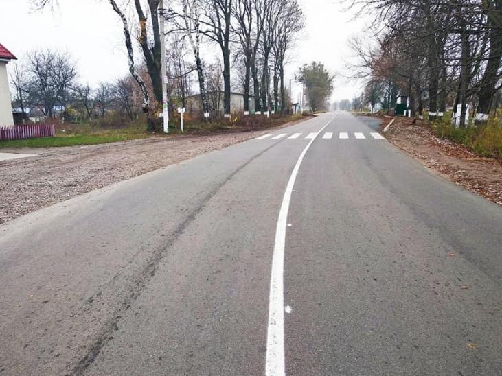 Шлях на межі Гощанського та Острозького районів готують до здачі в експлуатацію