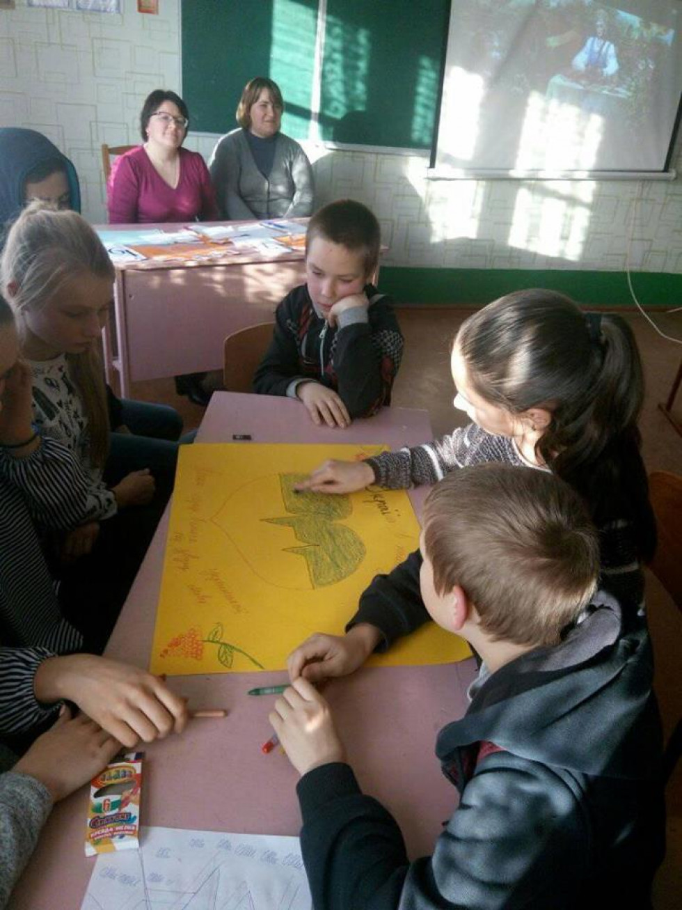 Інтелектуальні змагання в Українківській ЗОШ