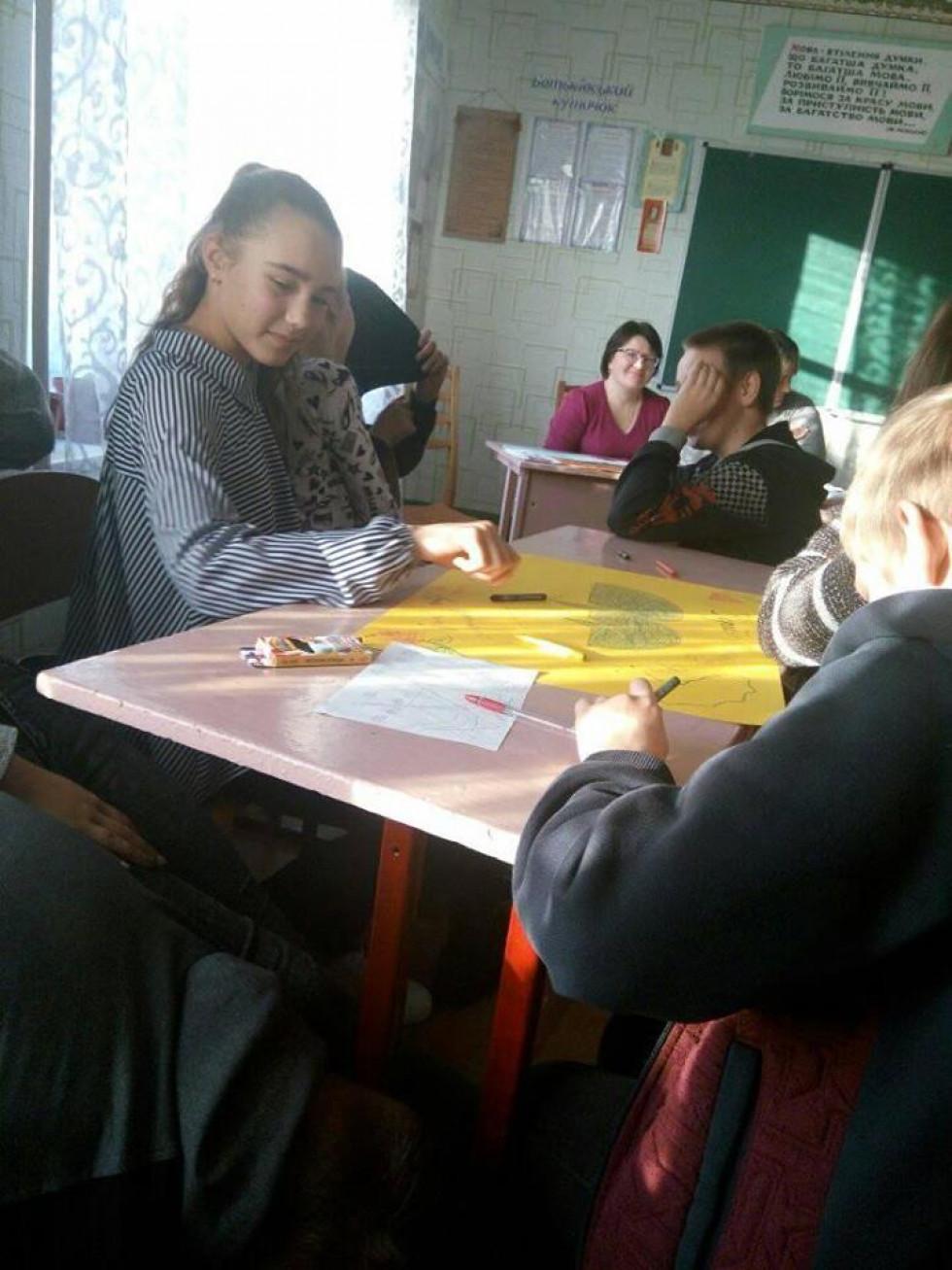 КВН в Українківській ЗОШ