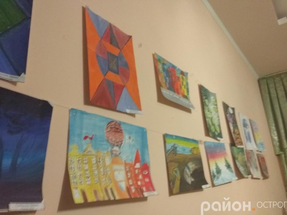 Виставка робіт художнього відділення