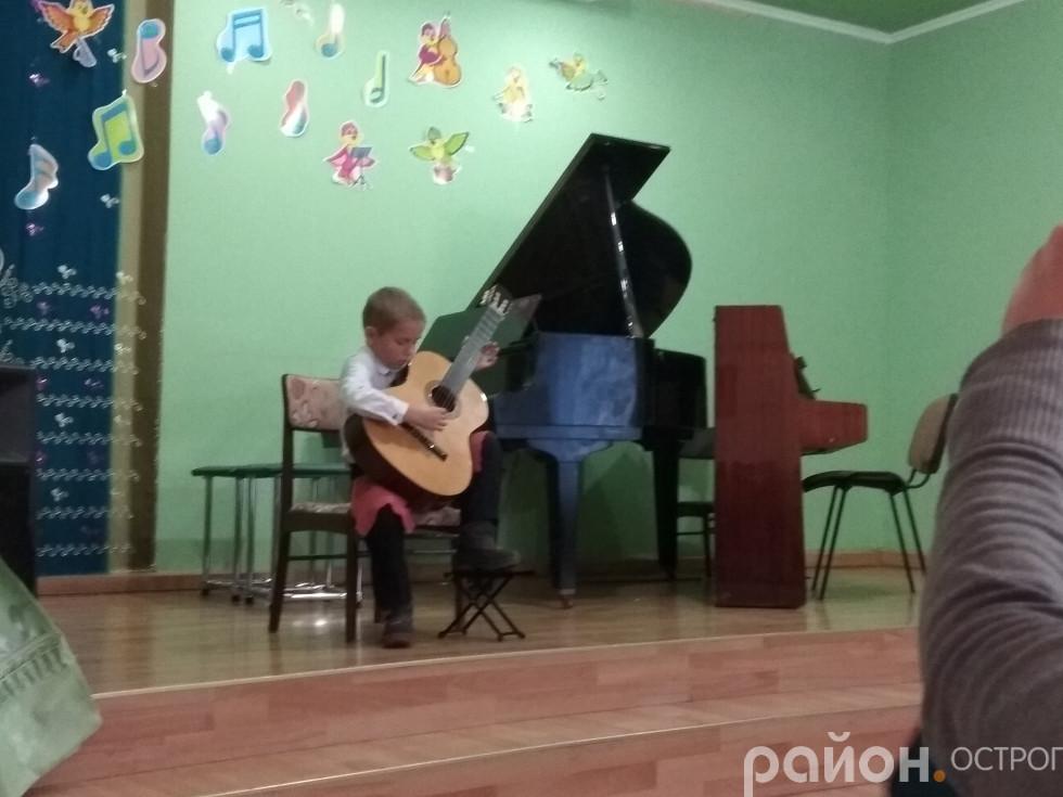 Миті святкового концерту