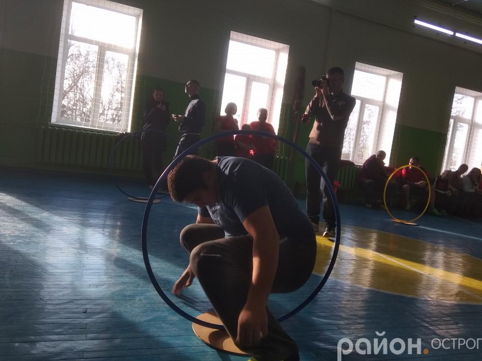 Змагання на гнучкість і спритність
